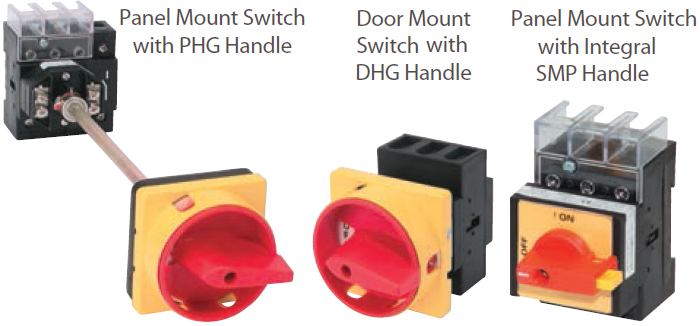Opacontrols for Class 1 div 2 motor disconnect switch