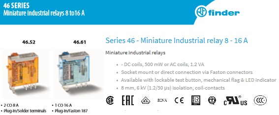 Finder 77 Series Solid State Relays